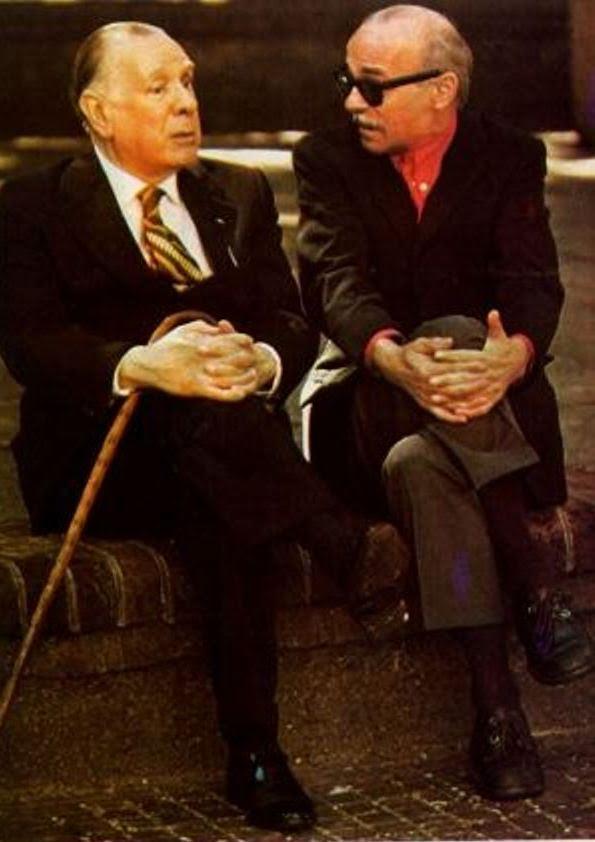 Jorge Luis Borges y Ernesto Sábato.