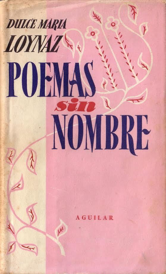 Portada Poemas sin nombre